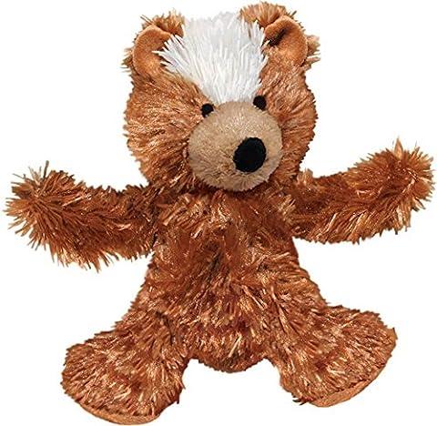 KONG Plush Teddy Bear Jouets en Peluche pour Chiens M