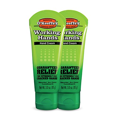 3oz Working Hands Tube 2-pack by O'Keeffe's (Hand Beauty Cream)