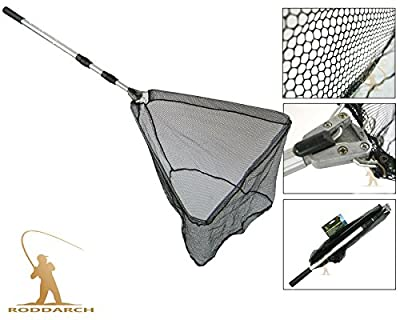 Roddarch© Fly Carp Coarse Sea Game Fishing Folding Extending Landing Net from Silver Bullet Trading