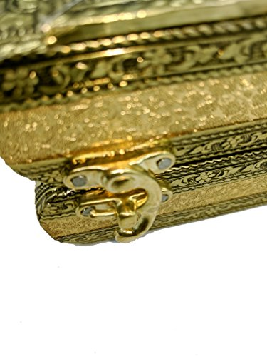 SARANGWARE-Handmade-Oxidised-Wooden-Jewellery-Box-for-Women-1-Roll-Bangle-with-5-Compartment-Jewellery-Box-with-Free-Mirror-SWOXY17
