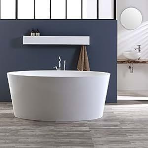 Vasca da bagno centro stanza modello veronica for Mobiletti bassi bagno