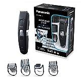 Panasonic ER-GB96-K503 Bart- & Haarschneider mit kammförmigem Klingendesign, Barttrimmer für Herren mit 58 Schnittlängen, präzise Bartpflege & Haarschnitte, schwarz