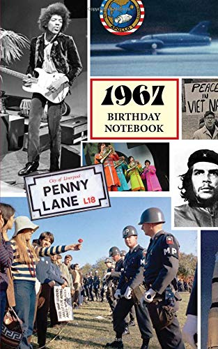 1967 Birthday Notebook: a great alternative to a birthday card