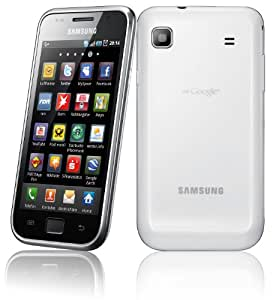Samsung Galaxy S I9000 Smartphone (10,2 cm (4 Zoll) Super Amoled-Touchscreen, HD Video, 1 GHz-Prozessor, 8 GB interner Speicher, Android 2.2) ceramic-white