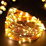 #4: TONY STARK Copper String USB Operated LED Lights, Fairy ,Garden, Decoration Party Wedding Diwali Christmas copper string Lights (100 LED usb)