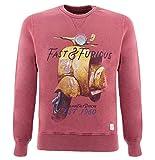 Bob Sweat-Shirt Bordeaux pour Homme M