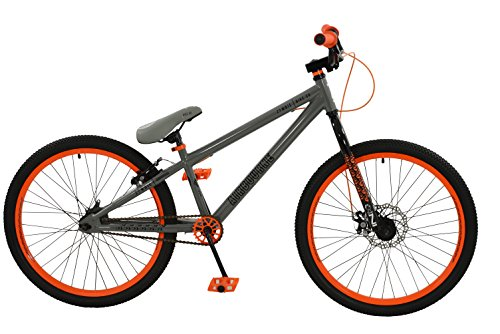 Zombie Boy Airbourne Vélo, Gris/Orange, Taille 24
