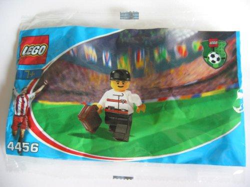 2002 Lego-sets (LEGO 4456–Figur Arzt im Beutel ohne Öffnen (Förderung von Coca-Cola für die WM 2002))
