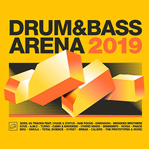Drum & Bass Arena 2019 (3cd+Mp3)