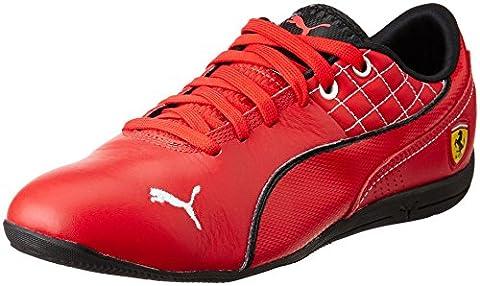 Puma Drift Cat 6 SF Flash, Baskets pour femme - Rouge - Rot (rosso corsa-white 04), 44.5 EU