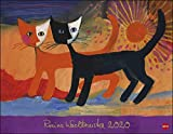 Rosina Wachtmeister Posterkalender. Wandkalender 2020. Monatskalendarium. Spiralbindung. Format 44 x 34 cm - Rosina Wachtmeister