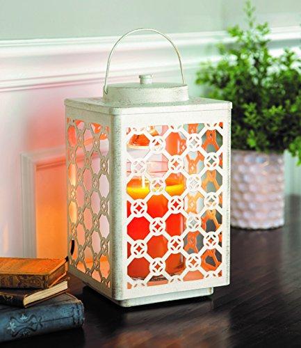 Candle Warmers Garden Laterne Kerzenwärmer für Duftkerzen im Glas Champagne