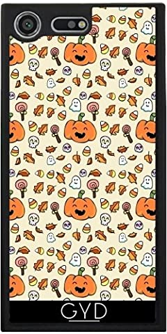 Coque Silicone pour Sony Xperia XZ Premium - Halloween Griffonne Grimaces by AnishaCreations
