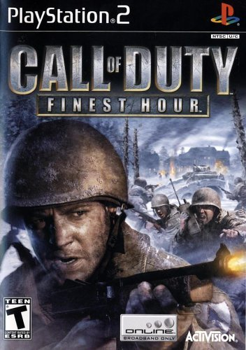 Call of Duty Finest Hour - PlayStation 2 by Activision