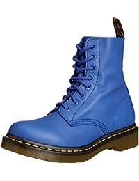 Dr. Martens Pascal Virginia Wild Blue, chaussures bateau femme