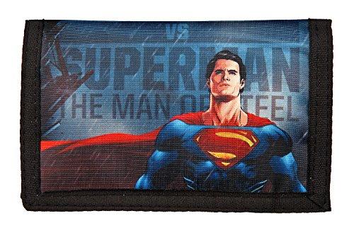 Kinder-portemonnaies Batman (Undercover BSFH7008 Geldbörse, Batman, Superman, ca. 14 x 9 x 1 cm)