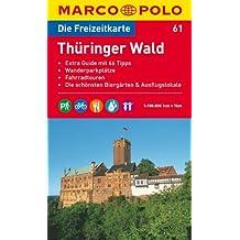 MARCO POLO Freizeitkarte Thüringer Wald 1:100.000