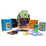Fujifilm Instax Mini 9 Festive Pack Instant Camera (Lime Green)