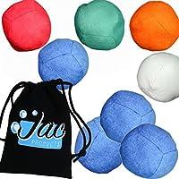 Set of 3 Uglies Juggling Balls & Bag - Advanced Technical Russian Juggling Beanbags