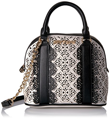 betsey-johnson-chic-frills-dome-satchel-black