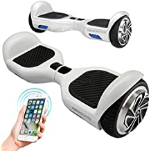 Aeroboard Self Balancing Electric Scooter Board with Built-in Bluetooth Speakers and Carry Bag Safety Certified UL 2272