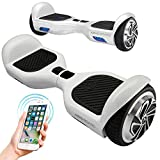"Hoverboard 6.5"" Electric Scooter Self Balancing Two Wheel Skateboard with Built-in Bluetooth Speakers"