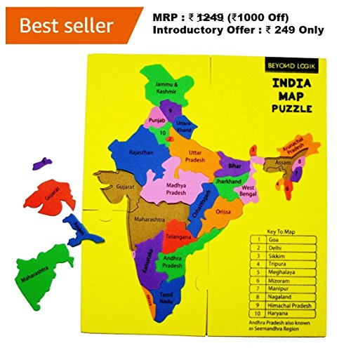 Beyond-Logik-India-Map-Foam-Puzzle-Fun-Learn-Educational-Toy-Return-Gift