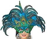 Pfauen-Maske