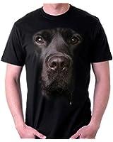 Big Face Animal Labrador, Men's T-Shirt