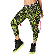 Pantalones harén para mujer Beach Baller de Zumba Fitness, mujer, color Zumba Green, tamaño medium