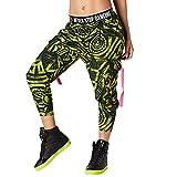 Zumba Fitness Z1B00557 Pantalon Femme, Zumba Green, FR : L (Taille Fabricant : L)