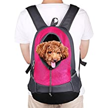 NHSUNRAY Pet Carrier mochila para pequeños perro gato Puppy(8kgs Max) On-the