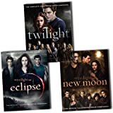 Twilight Saga Collection Official Illustrated Movie Companion 3 Books Set Pac...
