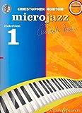 Christopher Norton: Microjazz Collection Band 1 (+CD) für Klavier mit Bleistift -- 28 leichte Klavierstücke mit einleitenden Übungen in modernen Stilarten (Noten/sheet music)