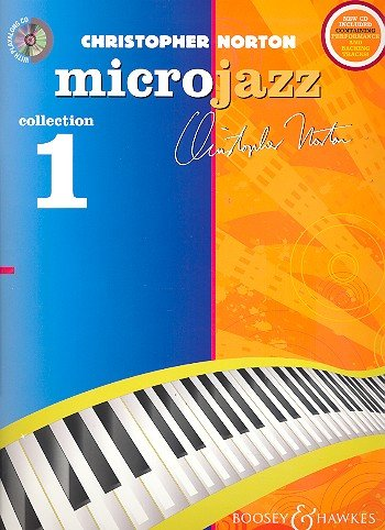 Christopher Norton: Microjazz Collection Band 1 (+CD) für Klavier mit Bleistift -- 28 leichte Klavierstücke mit einleitenden Übungen in modernen Stilarten (Noten/sheet music) (Collection Roll Travel)
