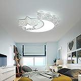 WETRR Cartoon Luce del soffitto Bambini Neonati luci d'umore per Bagno Cucina corridoio Ufficio corridoio 24W Diametro 45cm