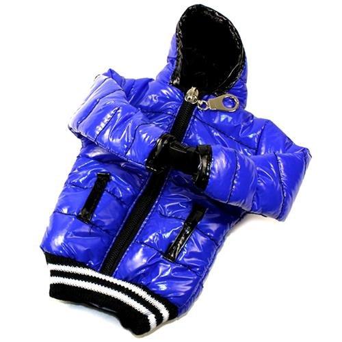 Schutzhülle Tasche Daunenjacke blau und schwarz für LG Optimus L7P700