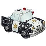 Hochwertige Spardose Polizeiauto, 17x10x9cm, tolle Geschenkidee für einen Polizisten / Polizistin
