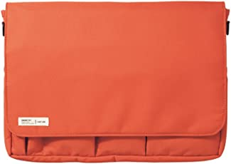 LIHIT LAB Carrying Pouch (Laptop Sleeve), Orange, 9.4 x 13.4 Inches (A7577-4)