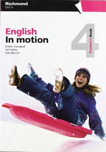 In Motion - 4 Student'S Book Inglés - 9788466809313