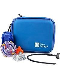 8932f8d67234 Duragadget Housse étui Rigide en Bleu pour Beyblade Burst MagiDeal    Modelco Itop Vortex