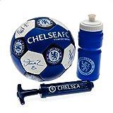 Chelsea FC nuskin Fußball Wasser Flasche und Pumpe, Blau, Größe 3 by Chelsea F.C.