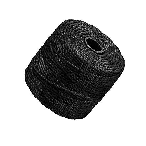 Beadsmith Lot Tex400 S-lon 0,9 mm Cordon Noir 32 m (32 m)