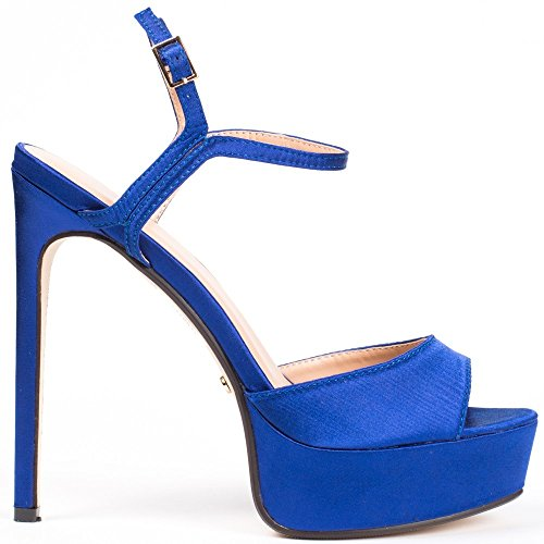Ideal Shoes ,  Scarpe col tacco donna Blu