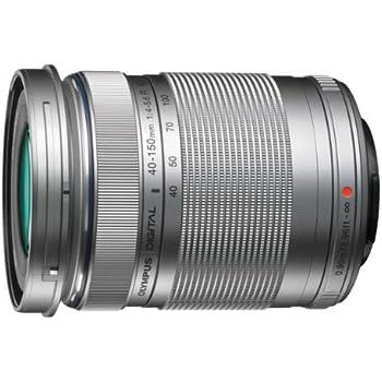 Olympus M.Zuiko Digital 40-150mm f/4.0-5.6 R - Objetivo para micro cuatro tercios (apertura f/4-22, zoom óptico 3.8x,diámetro: 58mm) color plata