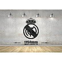 Real MadridBar1 -Adhesivo decorativo para pared de dormitorio infantil, 1150mm x 1150mm