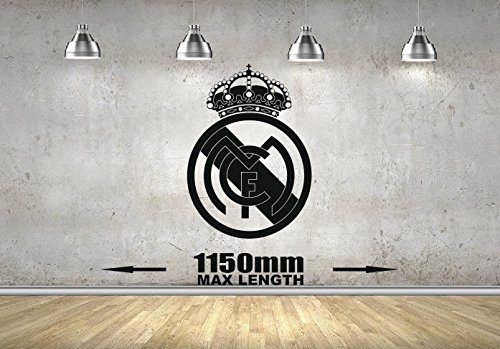 Real Madrid wall art sticker Boys Bedroom wall sticker mural ...