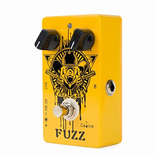 CALINE CP cp-46Fuzzy Bär Fuzz Gitarren Effekt Pedal -