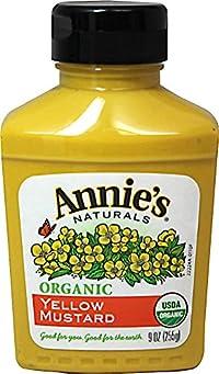 Annie'S - Organic Mustard Yellow 9 Oz. 136322