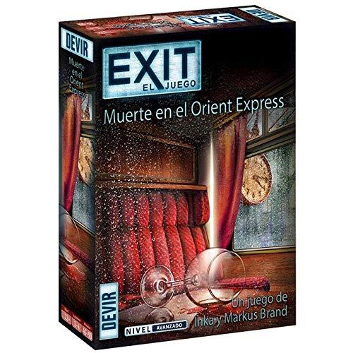 Devir- Exit Muerte El Orient Express Juego Mesa, JDMDVREXITORNTEXPSPA